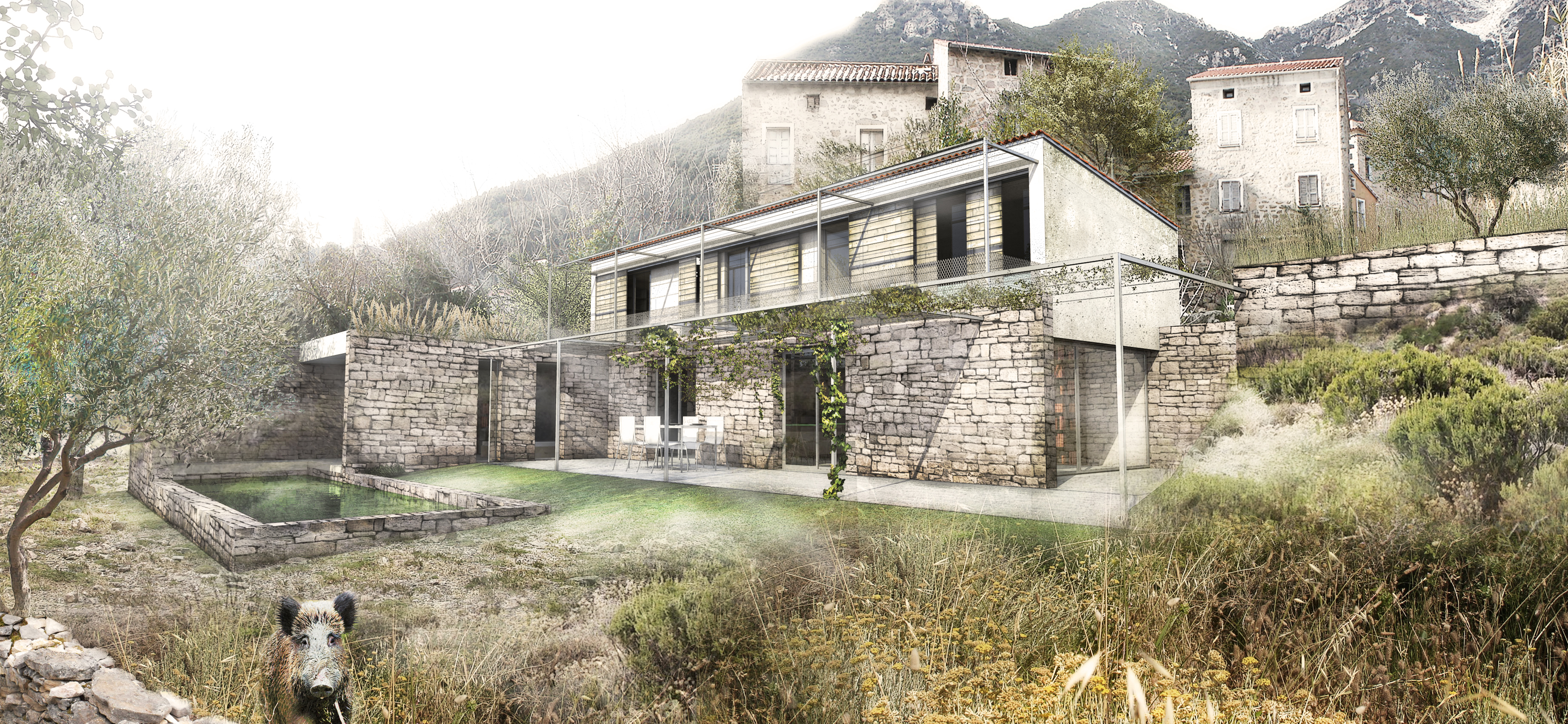 Cgz architecture - Ouvrage d architecture ...